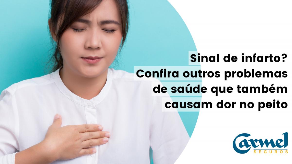 Dor no peito – O que pode ser?